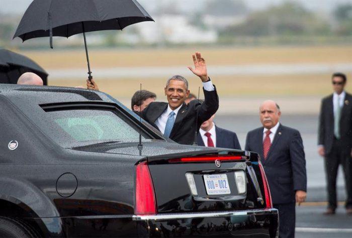 [Fotos] Así fueron las primeras horas de la histórica visita de Obama a Cuba