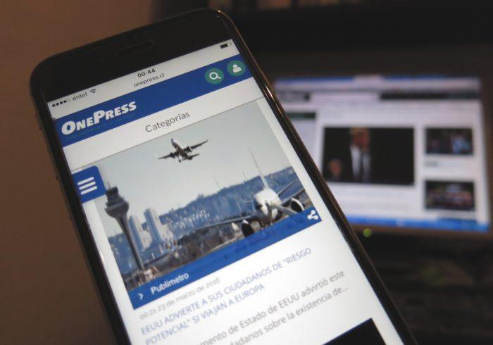 OnePress, la web chilena de noticias que compite con Google News
