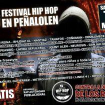 Raperos se preparan para celebrar Quinto Festival gratuito de Hip Hop en Peñalolén