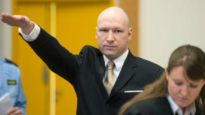 Autor de la masacre de Noruega ganó su demanda contra el Estado por