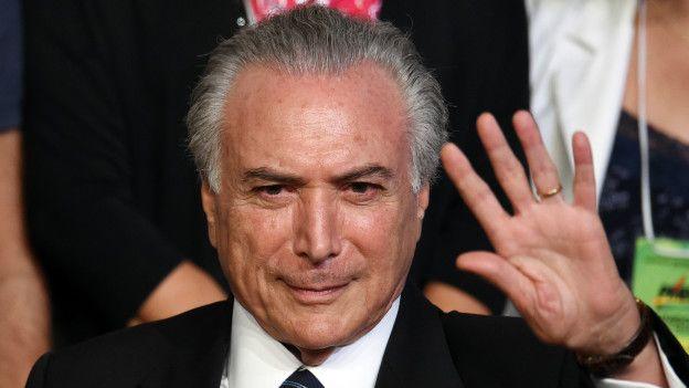 Juez concede libertad al expresidente de Brasil Michel Temer