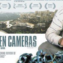 """Documental """"Cinco cámaras rotas"""" de Emad Burnat y Guy David en Centro Cultural Monte Carmelo, 28 de abril. Entrada liberada."""
