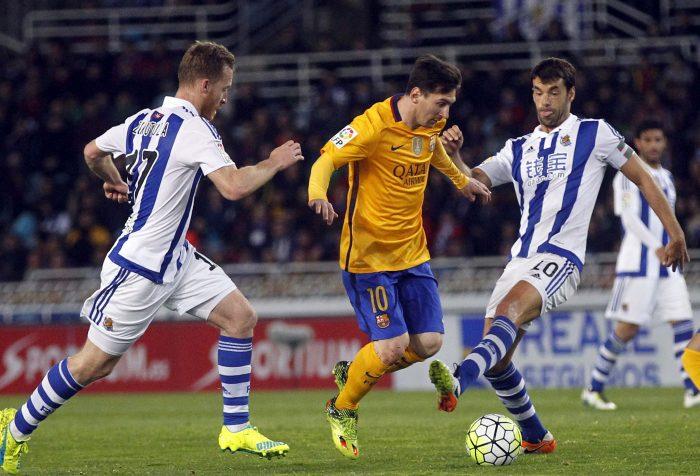 3-0. La Real Sociedad convence con una cómoda victoria
