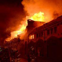 [Galería] Incendio terminó con los 96 años de historia del Mercado Municipal de Temuco