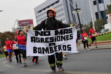 3 de Abril de 2016 / SANTIAGO Se realiza una nueva versión de la Maraton de Santiago, donde participan más de 28 mil personas. FOTO: SEBASTIAN BELTRAN GAETE / AGENCIAUNO