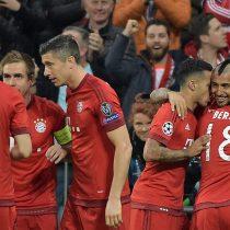 [VIDEO] Vidal marcó un gol en el empate que clasificó al Bayern a semifinales de la Champions