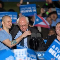 [VIDEO] El discurso de Residente Calle 13 en apoyo a Bernie Sanders en el bronx