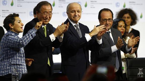 Más de 175 países suscribieron el Acuerdo de París contra el cambio climático