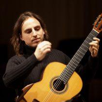 Recital de guitarra y canto dedicado a poeta David Rosenmann-Taub en Sala América de la Biblioteca Nacional, 6 de abril