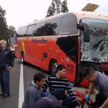 Accidente de tránsito deja tres muertos y nueve heridos en camino a Algarrobo