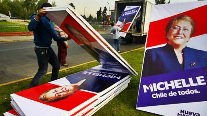 Imprenta que prestó servicios a campañas de Bachelet en la mira de la Fiscalía