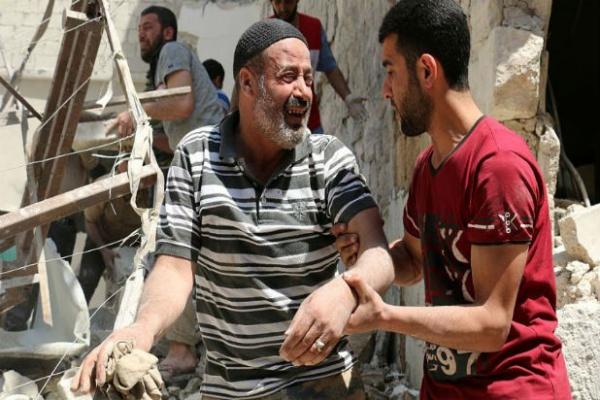 Tres médicos entre los 14 muertos luego de bombardeo a un hospital en Siria