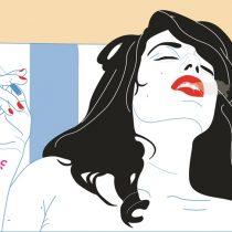 La franqueza del voyerismo en las ilustraciones eróticas de