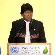 [VIDEO] La intervención de Evo Morales en el acuerdo de París contra el cambio climático