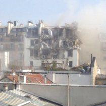 [Video] Violenta explosión de gas sacude al centro de París