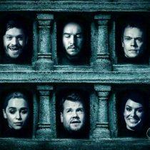 [VIDEO] El Salón de caras cobra vida con James Corden y su parodia de 'Game Of Thrones'