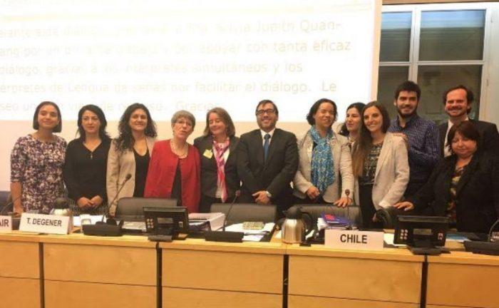 Chile rinde examen ante Comité ONU por la Convención sobre Derechos de Personas con Discapacidad