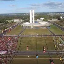 [VIDEO] La tensa espera por el impeachment a Dilma Rousseff desde un drone