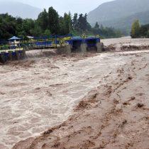 San José de Maipo se prepara para evitar aluviones por lluvias pronosticadas para hoy