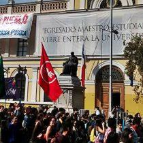 Estudiantes emplazan al Gobierno tras marcha: