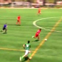 [VIDEO] El golazo al estilo Maradona o Messi pero en la tercera división del fútbol español