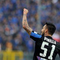 [Video] La especialidad de la casa: Mauricio Pinilla anota de chilena en triunfo del Atalanta ante el Milan