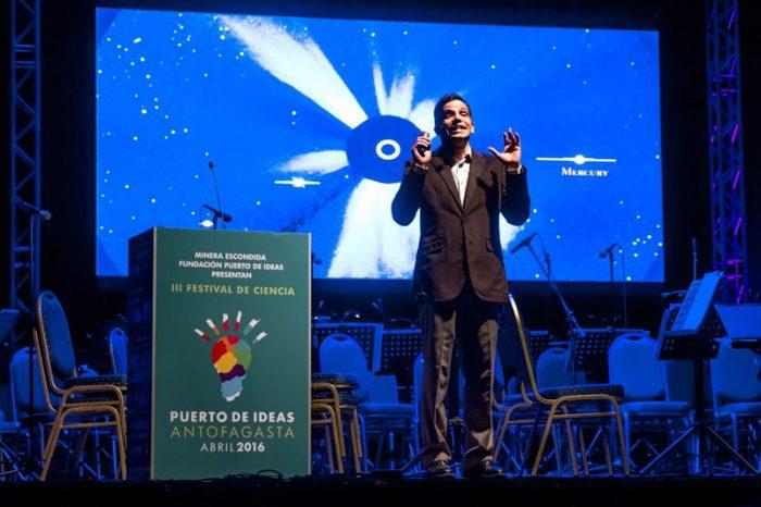 Astrónomo José Francisco Salgado. Foto: Rodrigo Herrera