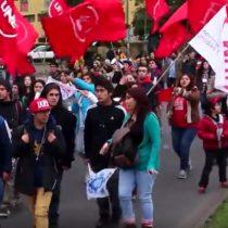 [VIDEO] Movilizaciones en el sur de Chile exigiendo la recuperación de recursos naturales
