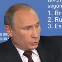 [VIDEO] Putin explica el rol de Estados Unidos en el auge del Estado Islámico: