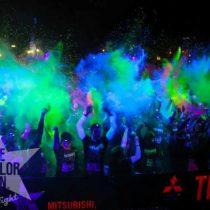 Este sábado se corre la versión inclusiva de la corrida The Color Run Night