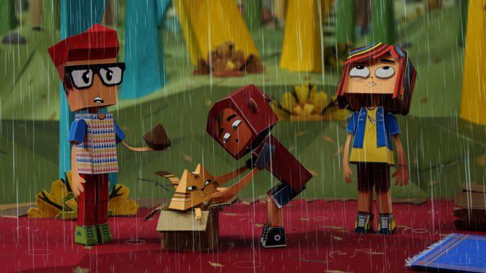"""""""Puerto Papel"""", la ambiciosa animación chilena que triunfa en el extranjero"""