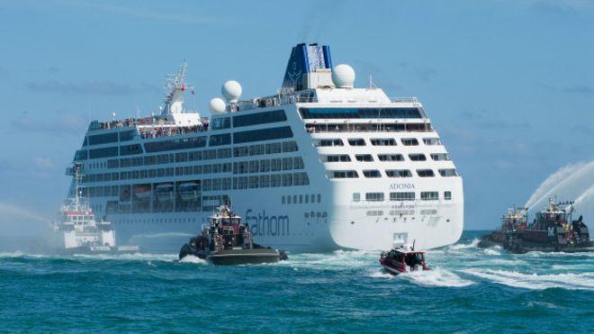 Así es viajar en el primer crucero entre EE.UU. y Cuba