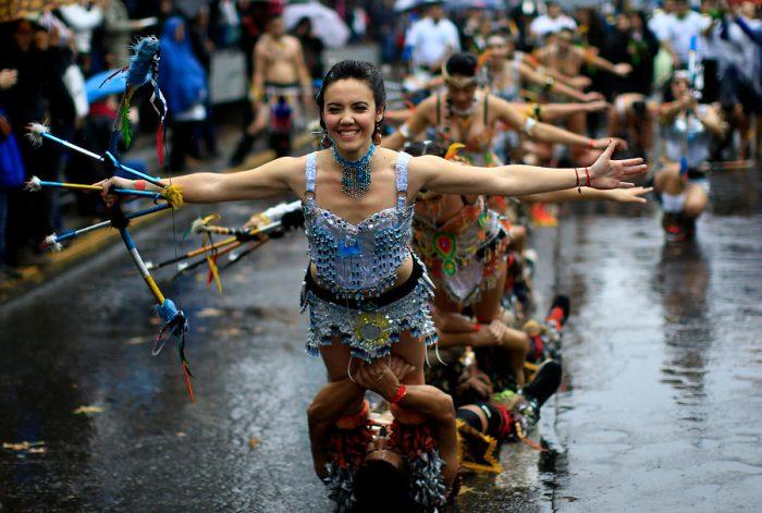 Postales que dejó el Carnaval Santiago 2016