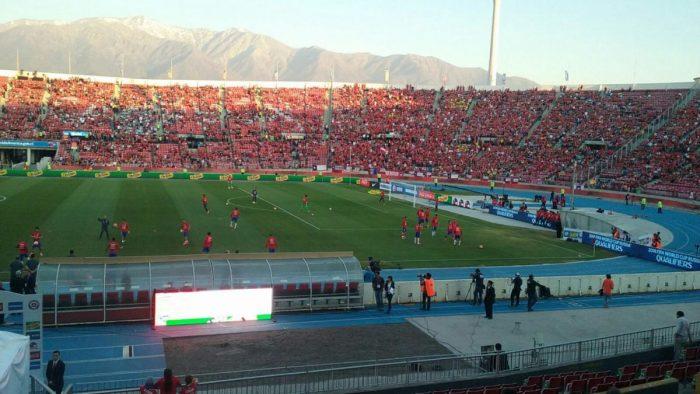 La Roja no podrá jugar los próximos dos duelos oficiales en el Estadio Nacional para eliminatorias Rusia 2018