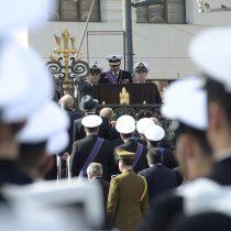 Almirante Larrañaga llama a seguir el ejemplo de Prat en el servicio público
