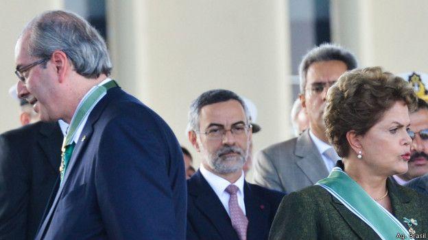 Rousseff ha acusado a Cunha de conspirar para derrocarla.