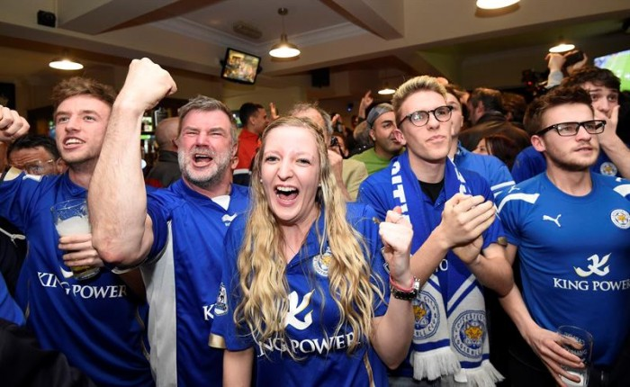 El Leicester campeón de la Premier por primera vez en su historia