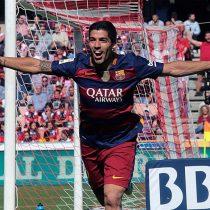 Barcelona derrota al Granada con triplete de Luis Suárez y se consagra campeón de la Liga