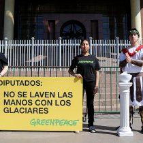 [Opinión] Greenpeace: El proyecto de Ley de Glaciares es malo y no protege a los glaciares
