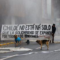 Confech completa la segunda marcha del año con los ojos puestos en la crisis de Chiloé