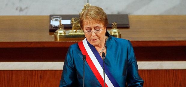 Bachelet por muerte de trabajador:
