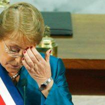 El amargo 21 de mayo de Bachelet