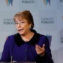 Adimark: Bachelet sale trasquilada de crisis en Chiloé y tensiones oficialistas