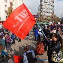 La CUT se reúne en Plaza Italia para marchar en defensa de la titularidad sindical