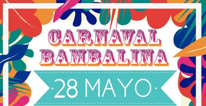 Carnaval Bambalina en Biblioteca de Santiago, 28 de mayo. Entrada liberada.