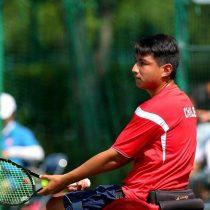 Tenista paralímpico chileno Alexander Cataldo es número uno del ranking junior