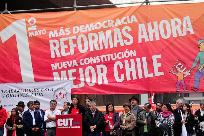 Fallo contra reforma laboral marca conmemoración Día del Trabajador y la CUT llama a paro nacional