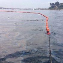 Nuevo derrame de combustible en bahía Quinteros