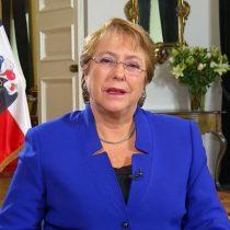 [VIDEO]  El saludo de la Presidenta a los integrantes de la Comisión Rettig