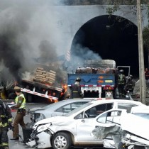 Suben a seis los muertos por accidente múltiple en ruta Las Palmas